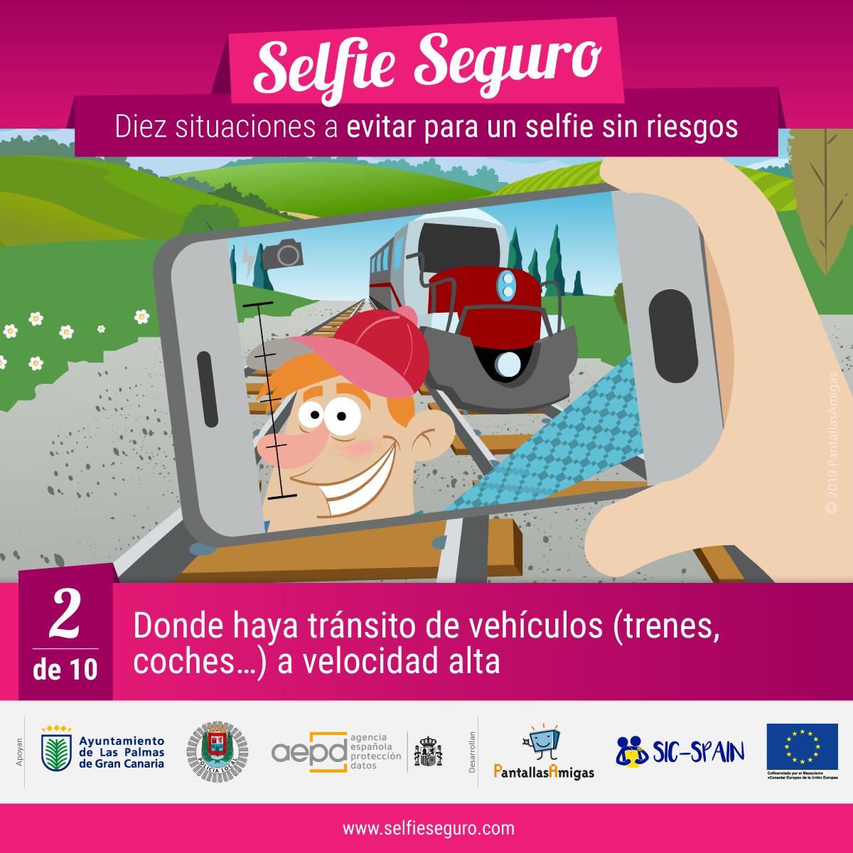 selfie seguro